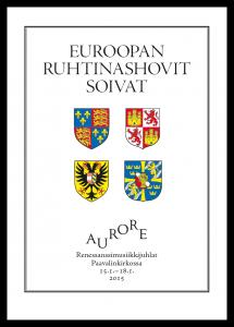 Aurore 2015 – ohjelmakirjan kansi