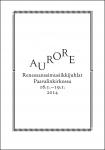 Aurore 2014 -ohjelmakirja
