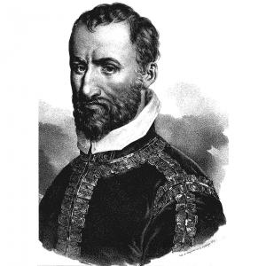 Säveltäjä Giovanni Pierluigi da Palestrina