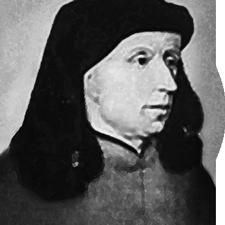 Säveltäjä Johannes Ockeghem