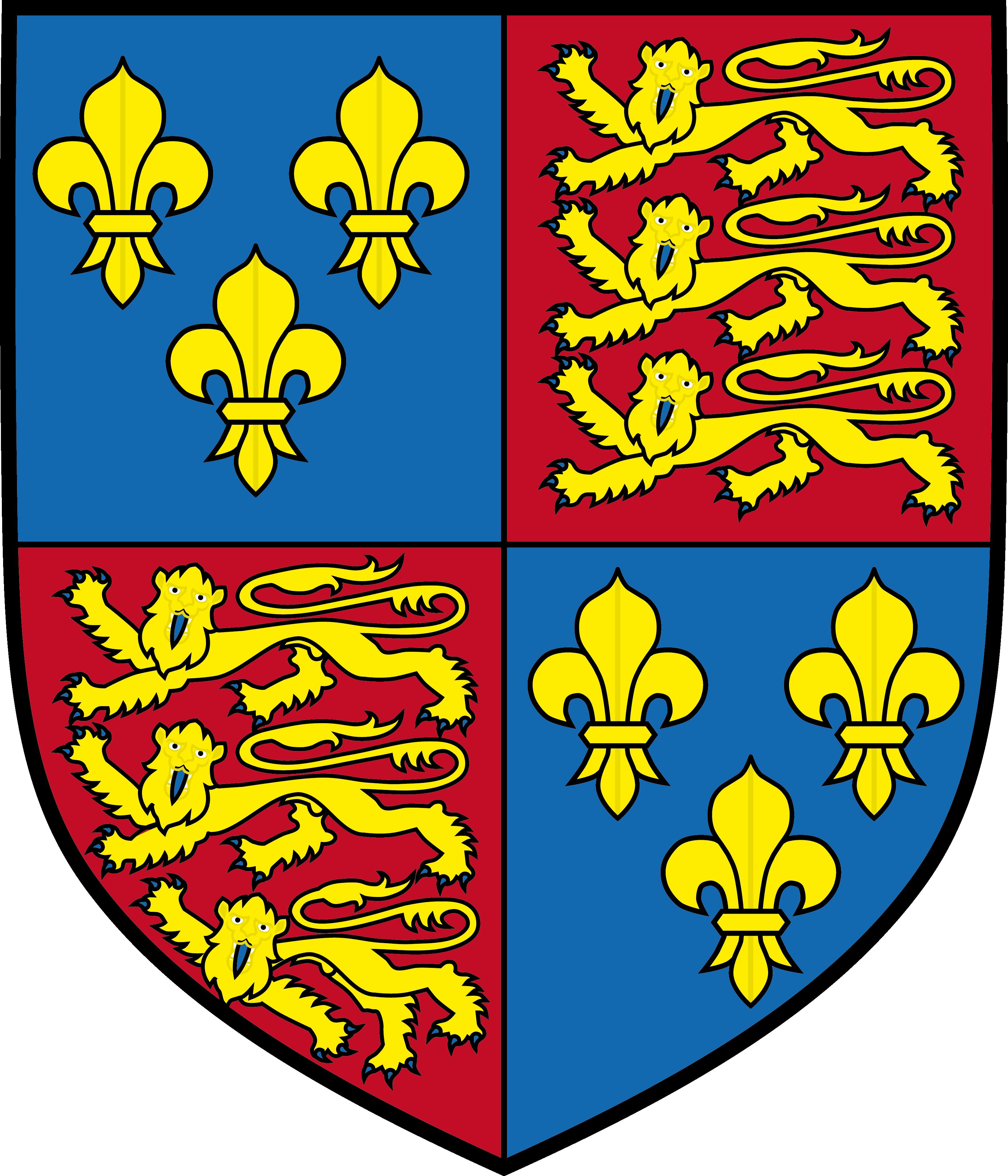 Tudorin suvun vaakuna